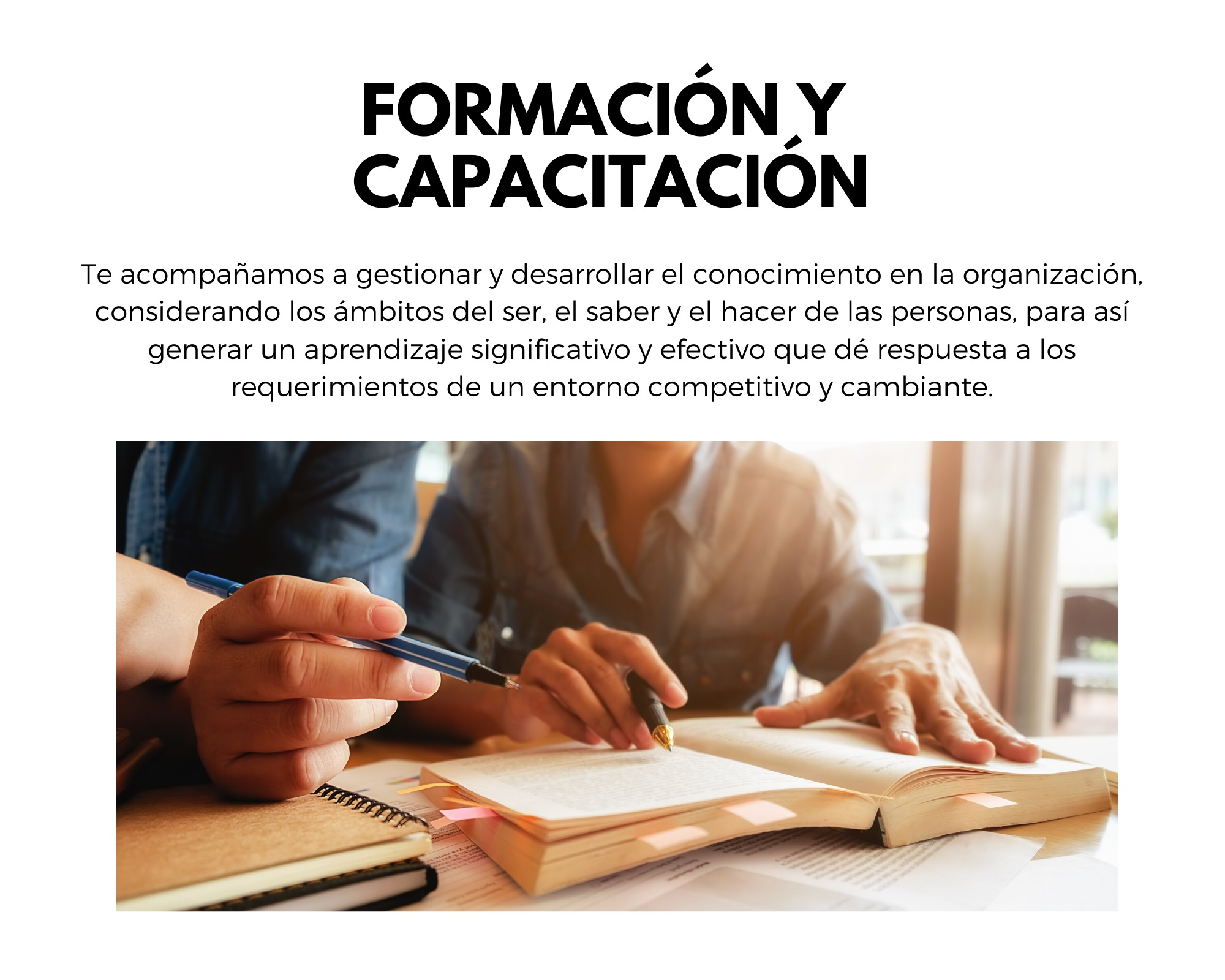 Formación y Capacitación